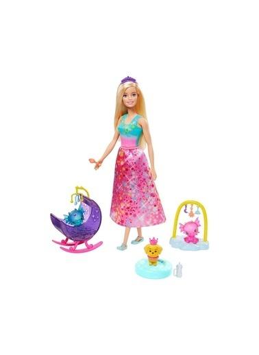 Barbie Dreamtopia Prenses Bebek ve Aksesuarları GJK49-GJK51 Renkli